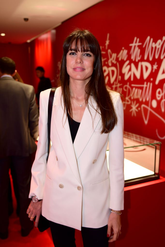 Charlotte Casiraghi attends the Montblanc: (Red)Launch event cocktail at the Boutique Champs-Elysees. | Source: Getty Images
