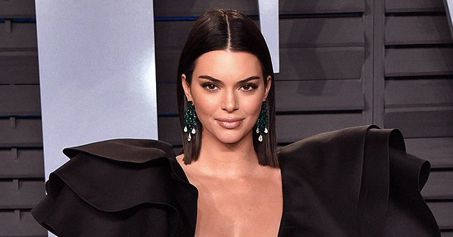 Kendall Jenner at Vanity Fair Oscar Party in March 2018. | Photo: Getty Images