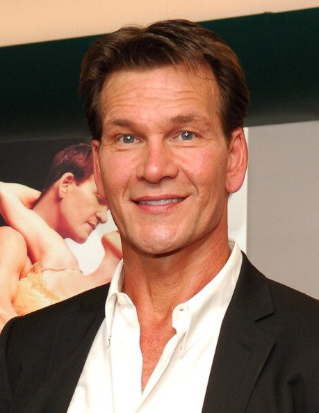 "Patrick Swayze in New York City celebrating his movie, ""One Last Dance"" 