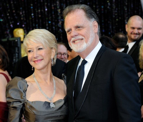 Helen Mirren and husband Taylor Hackford attend the Annual Academy Awards in Hollywood on February 27, 2011 | Photo: Getty Images