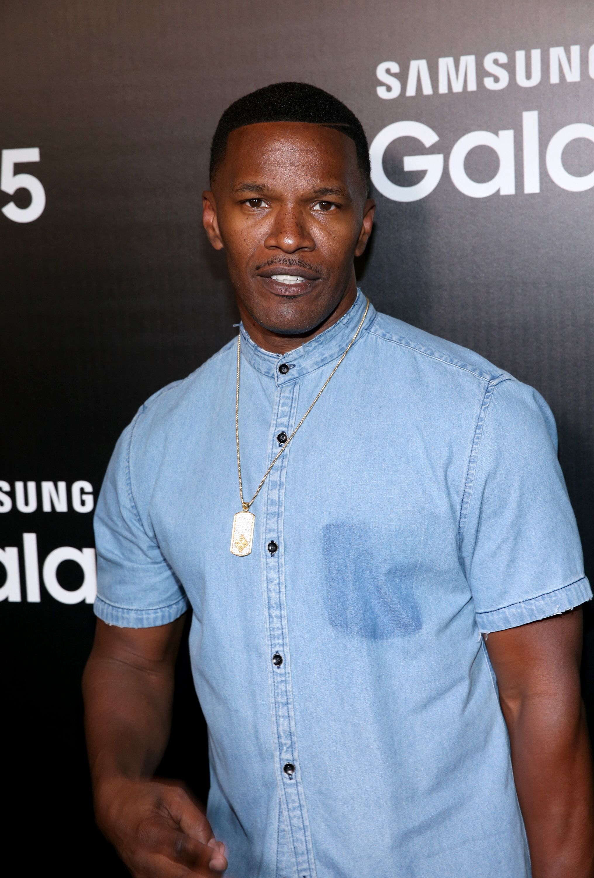 Actor Jamie Foxx celebrates the new Samsung Galaxy S6 edge+ and Galaxy Note5 at Launch Event on August 18, 2015 in Los Angeles, California | Photo: Getty Images