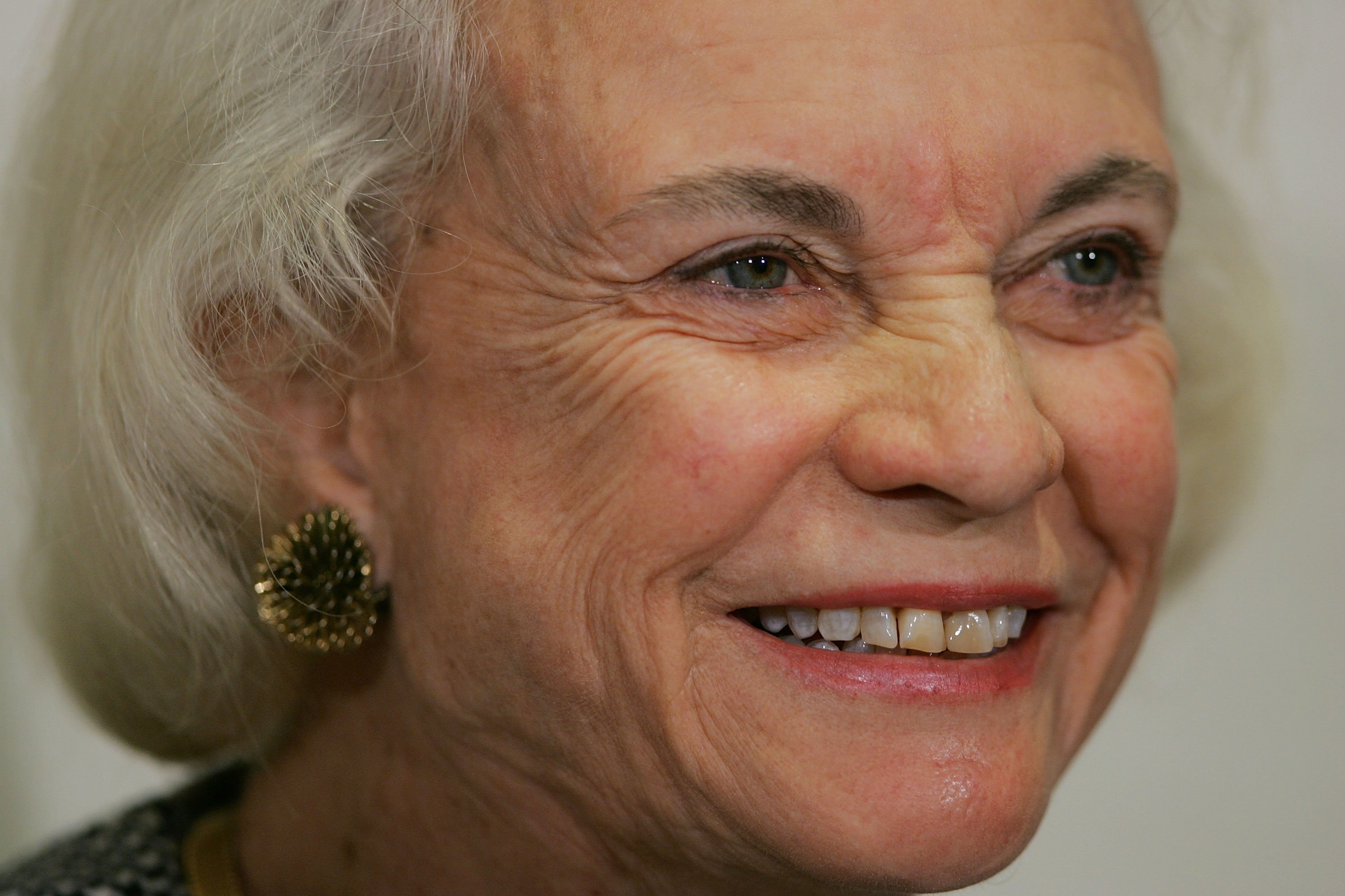 U.S. Supreme Court Justice Sandra Day O'Connor at the Moultrie Courthouse in Washington, DC | Photo: Getty Images