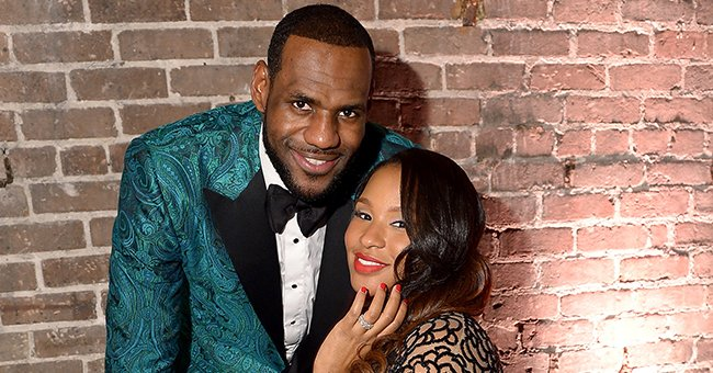 LeBron James and his wife, Savannah Brinson. | Photo: Getty Images
