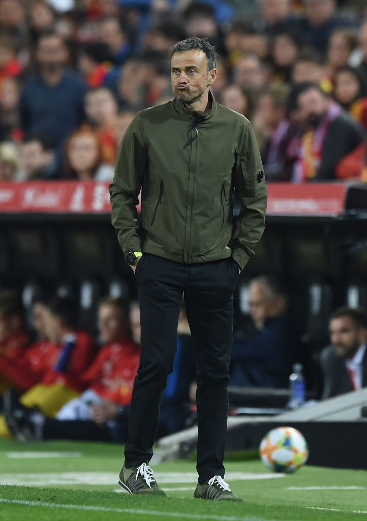 Luis Enrique, exmánager de la selección española en el Estadio Mestalla el 23 de marzo de 2019 en Valencia, España. | Imagen: Getty Images