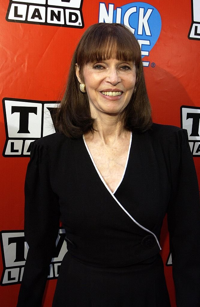 """Barbara Feldon at the TV Land and Nick at Nite Upfront in """"The Bat Cave"""" on Broadway 