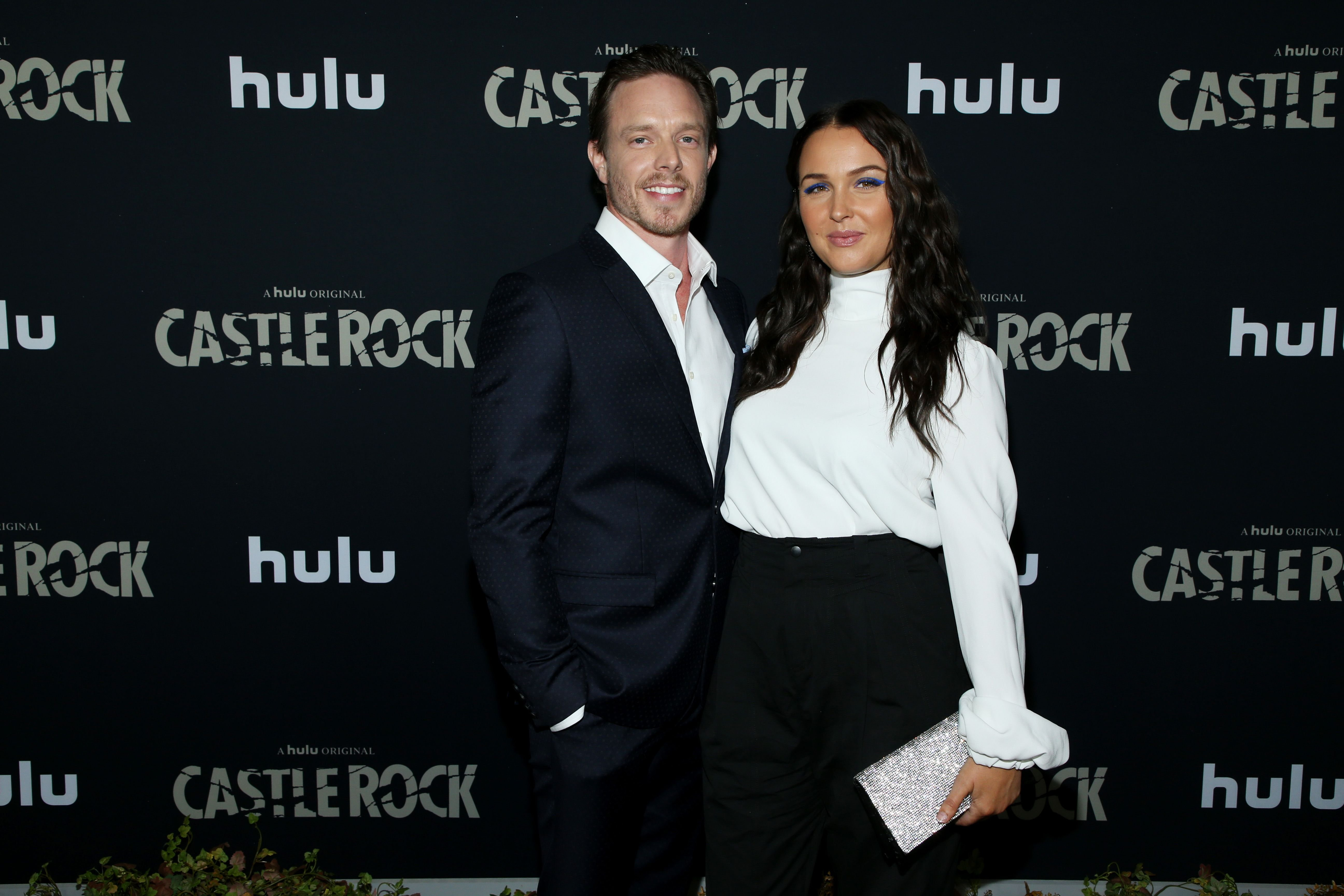 "Matthew Alan and Camilla Luddington at the premiere of Hulu's ""Castle Rock"" Season 2 at AMC Sunset 5 on October 14, 2019 in Los Angeles, California 