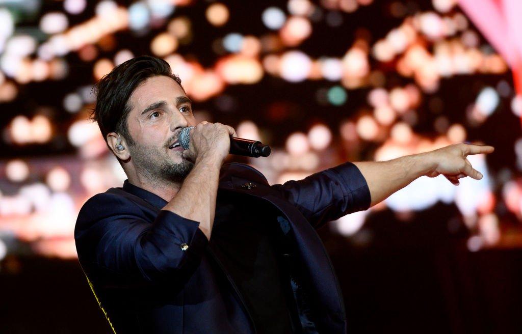 David Bustamante se presentó en la entrega de los Premios Cadena Dial. l Fuente: Getty Images