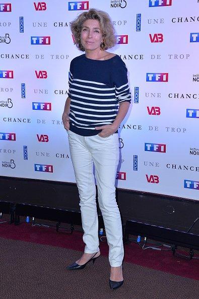 Marie-Ange Nardi assiste à la première de'Une Chance de Trop' Paris au Cinéma Gaumont Marignan le 24 juin 2015 à Paris, France.   Photo : GettyImage
