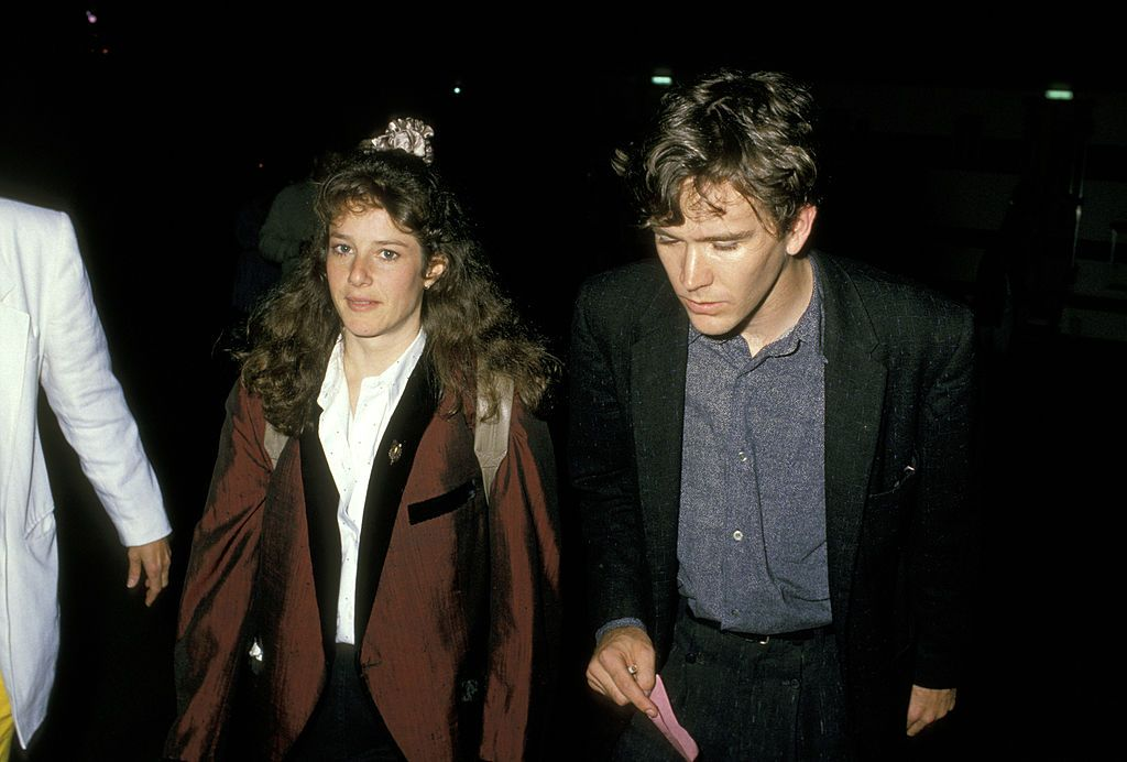 """Debra Winger and Timothy Hutton during """"Big"""" Los Angeles Premiere on May 31, 1988 