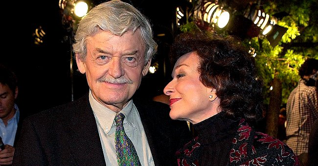 "Actor Hal Holbrook and wife actress Dixie Carter arrives at the premiere of ""Men of Honor"" on November 1, 2000 in Beverly Hills 