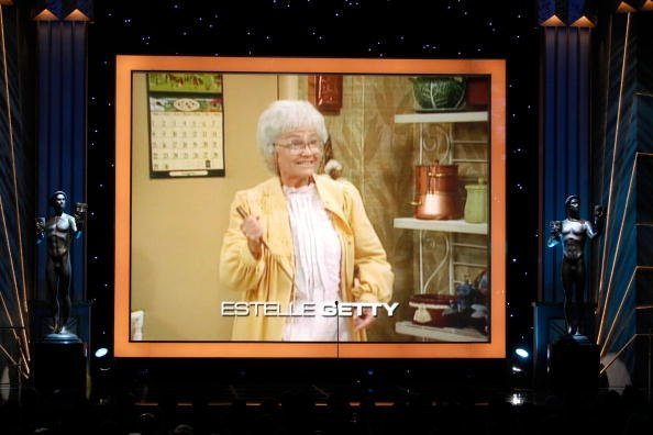 In Memorium screenshot for actress Estelle Getty during the 15th Annual Screen Actors Guild Awards held on January 25, 2009 in Los Angeles, California. | Photo: Getty Images