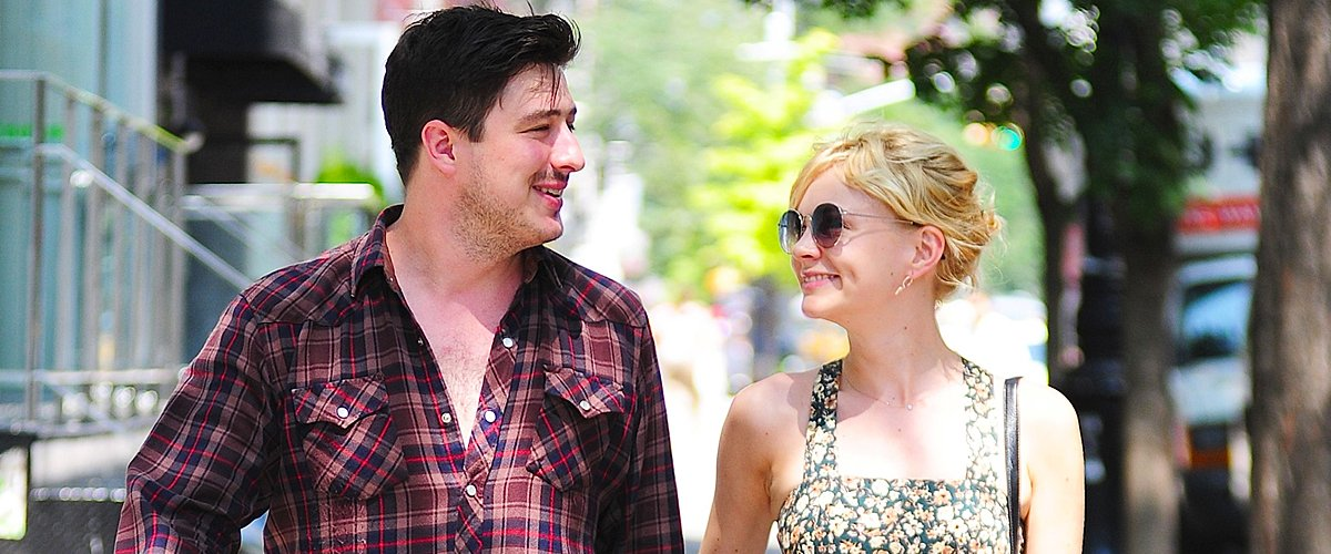 Marcus Mumford and Carey Mulligan in SoHo on August 2, 2012 in New York City | Photo: Getty Images