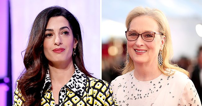 George Clooney's Wife Amal Jokes That Her & Meryl Streep Have Been Married to Her Husband