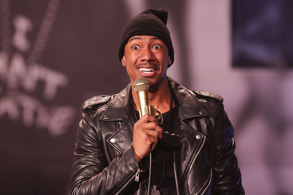 Actor/ Producer Nick Cannon performs on stage at The Ebony Repertory Theatre | Photo: Getty Images