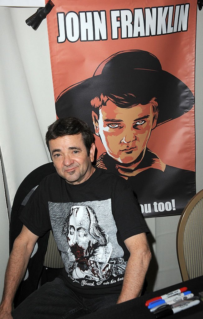 Actor John Franklin attends the 2014 Monsterpalooza: The Art Of Monsters Convention held at Marriott Airport Hotel    Getty Images / Global Images Ukraine