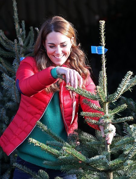 Catherine, Duchess of Cambridge joins families and children who are supported by the charity Family Action at Peterley Manor Farm on December 04, 2019 | Photo: Getty Images
