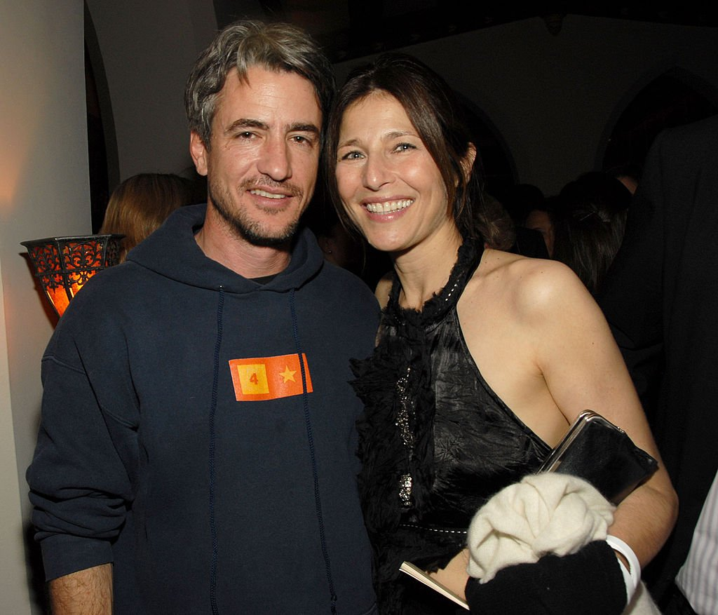 Dermot Mulroney and Catherine Keener at the ONE.org Event to Make Poverty History on March 03, 2006. | Photo: Getty Images