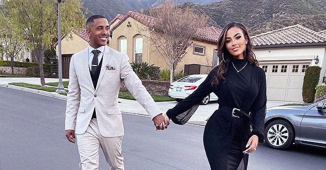 'Sister, Sister' Star Marques Houston Shows 1st Memorial Evening with 19-Year-Old Wife Miya