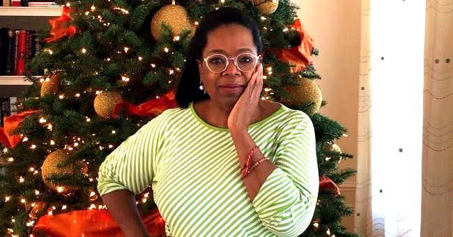 Oprah Winfrey Celebrates Christmas with Family & Friends in Photo from Their Front Yard