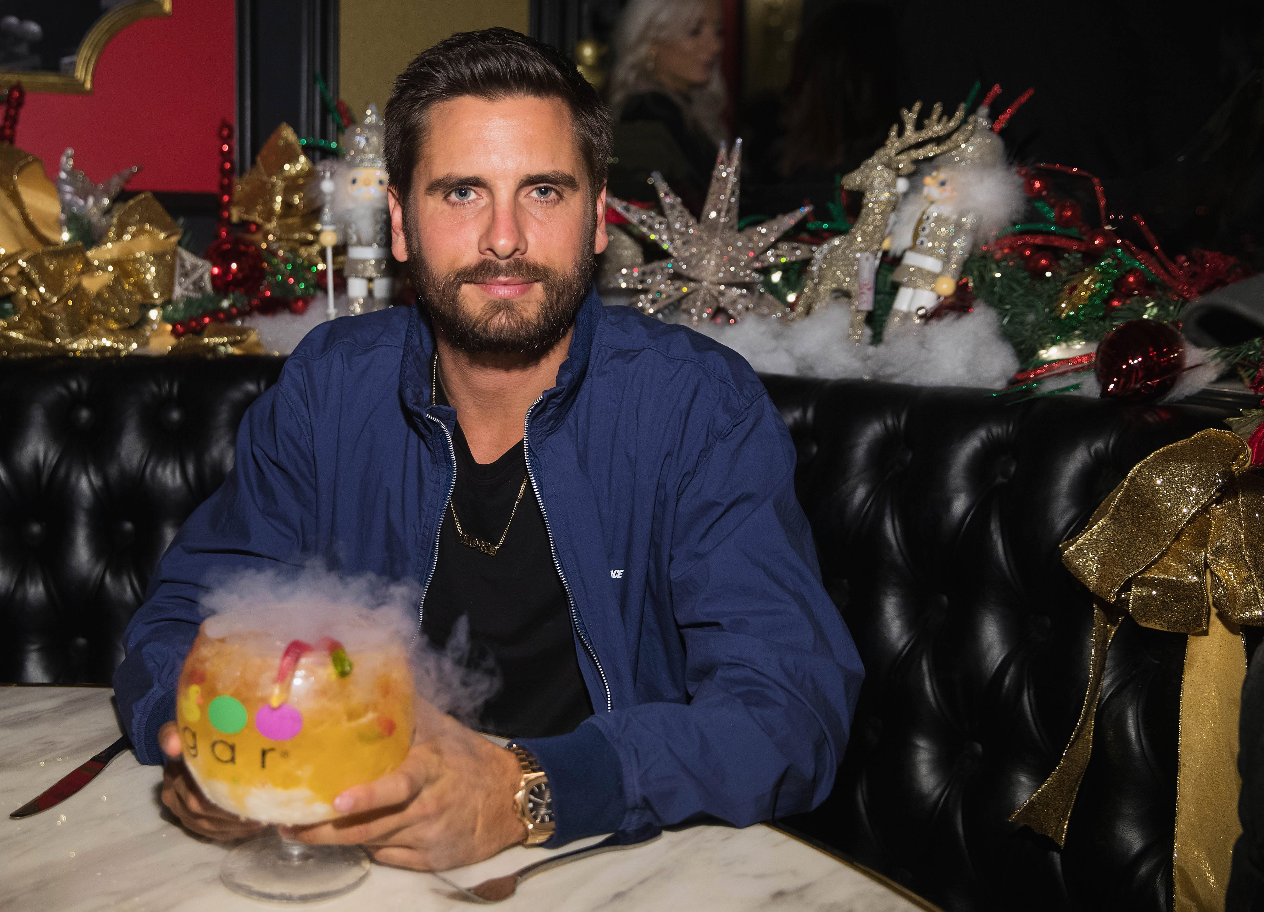 Scott Disick during a 2017 store opening in Las Vegas.   Photo: Getty Images