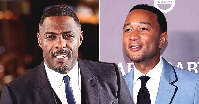 Idris Elba Sends Message to John Legend after Being Named PEOPLE's Sexiest Man Alive 2019