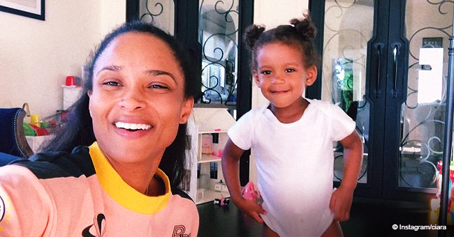 Ciara's Daughter Helps Her to Promote 'Beauty Marks' Album (Video)