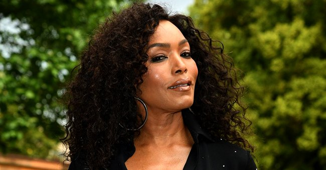 Angela Bassett Rocks a Witch Hat with Her Kids' Friends & Proves She's Still Young at Heart