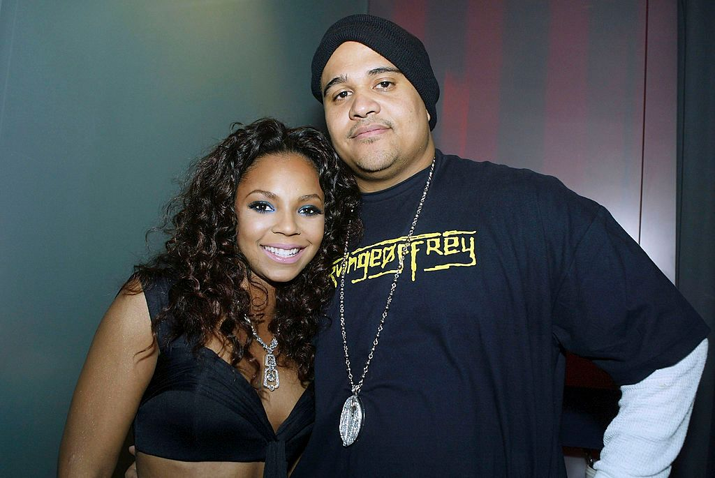 Ashanti with Inc Records CEO Irv Gotti in March  2005 in Los Angeles, California   Source: Getty Images