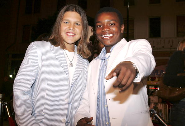 Richard Sandrak and Marc John Jeffries at Grauman's Chinese Theater on November 2, 2005 in Hollywood, California. | Photo: Getty Images
