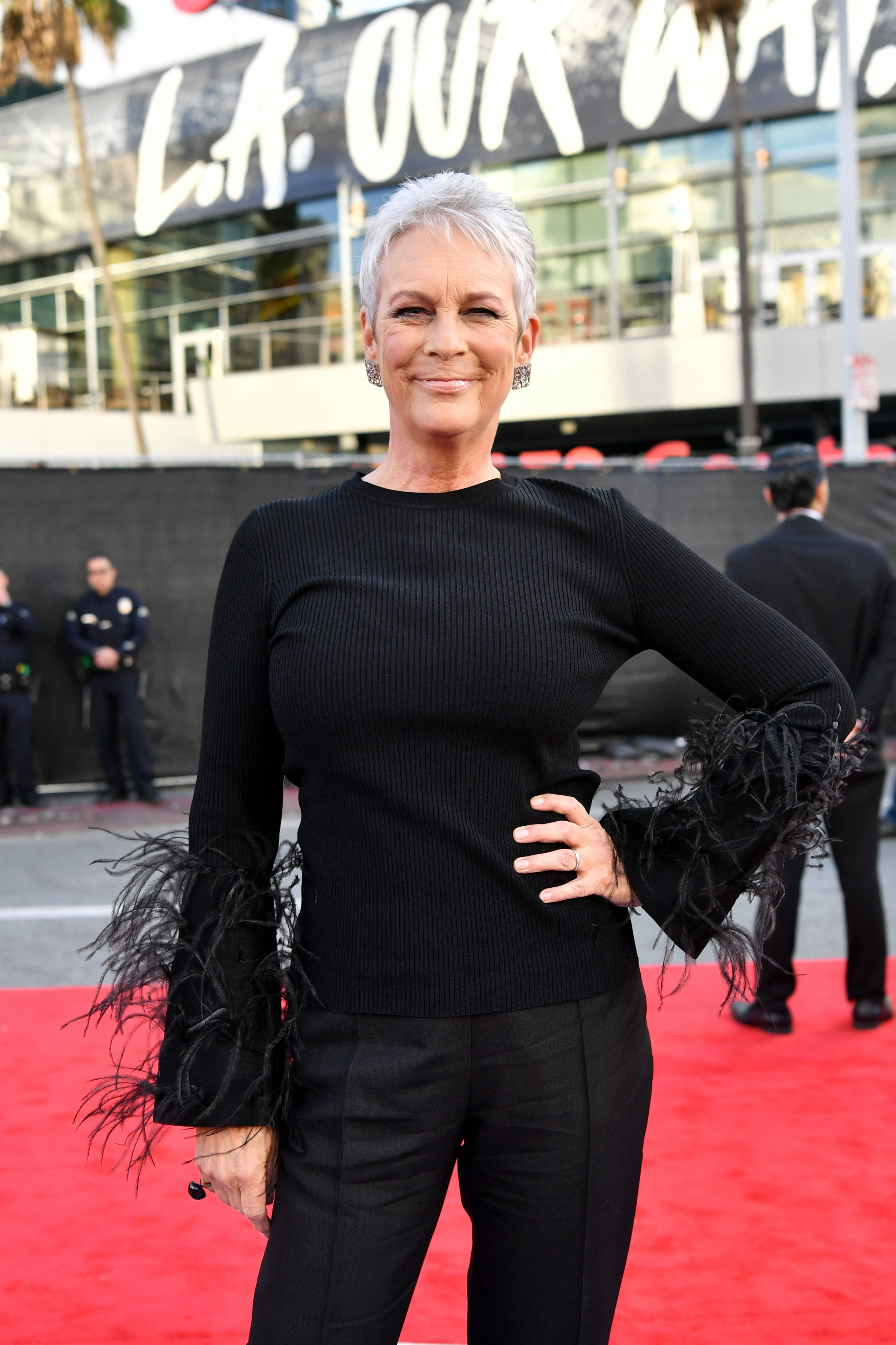 Jamie Lee Curtis attends the 2019 American Music Awards at Microsoft Theater on November 24, 2019  | Photo: GettyImages