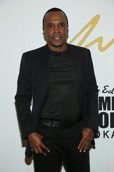 Sugar Ray Leonard at East Angel Gallery on February 20, 2020 in Los Angeles, California. | Photo: Getty Images