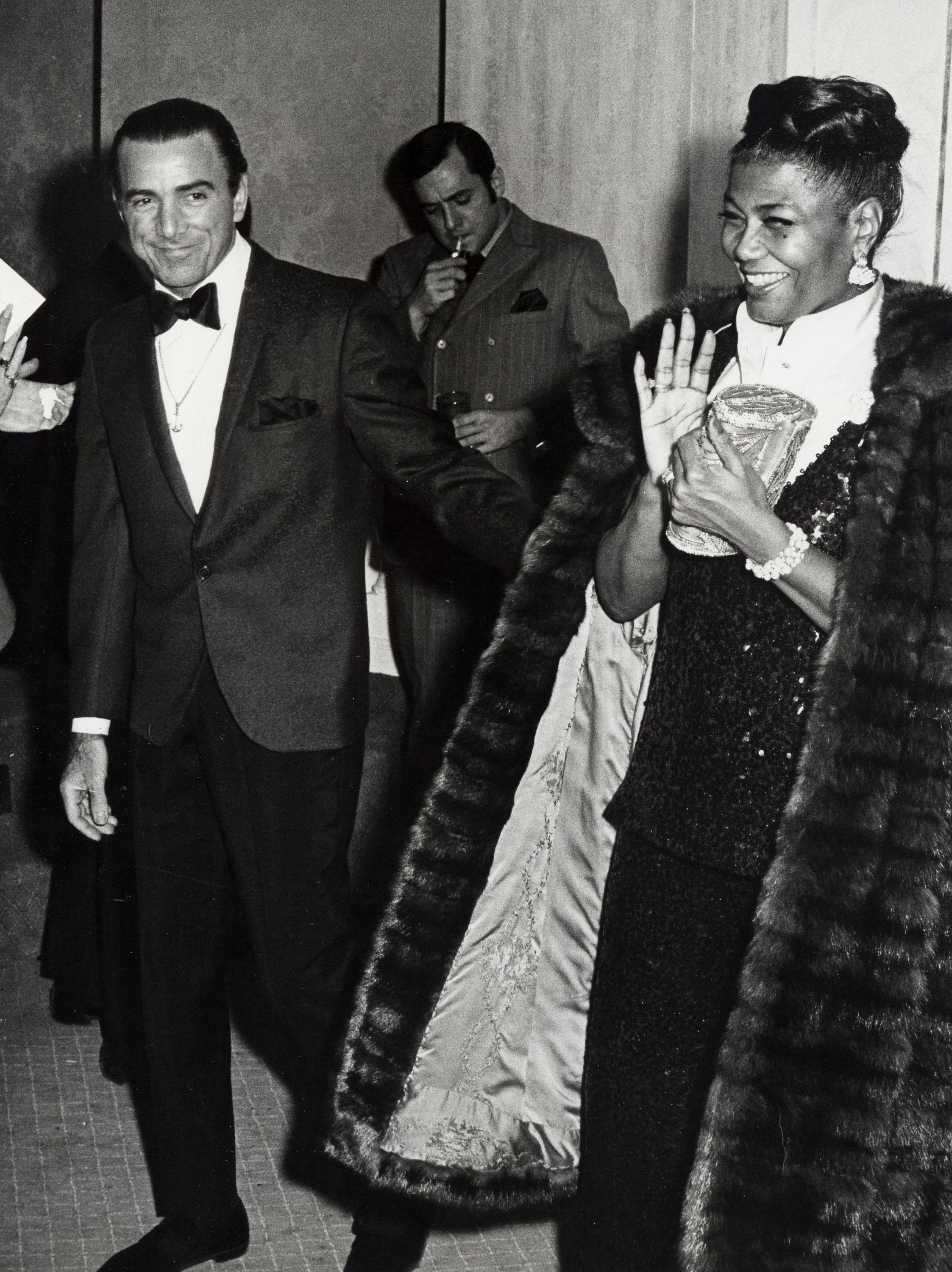 Louie Bellson and Pearl Bailey at the Cue Awards on January 3, 1969 | Photo: Getty Images