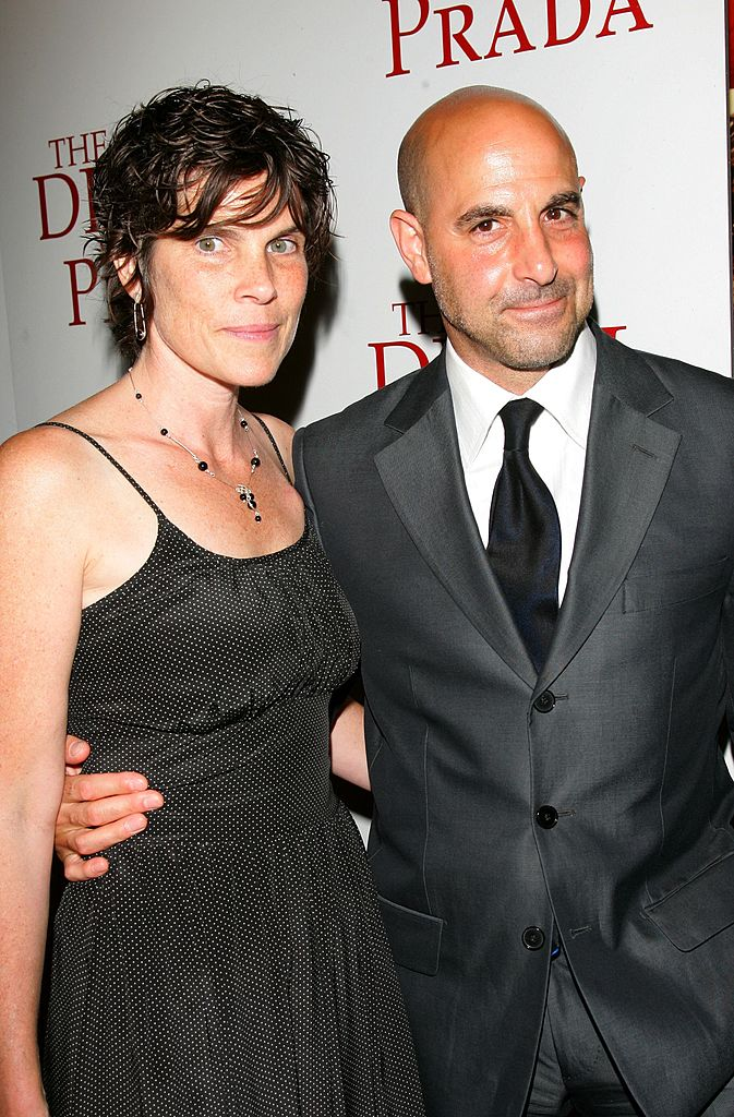 "Stanley Tucci and his wife Kate, at the 20th Century Fox premiere of ""The Devil Wears Prada"" at the Loews Lincoln Center Theatre on June 19, 2006 