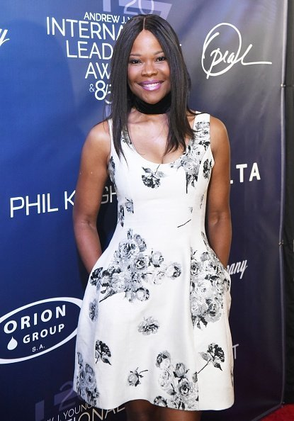 Angela Robinson walks the red carpet at The 2017 Andrew Young International Leadership Awards and 85th Birthday Tribute at Philips Arena in Atlanta | Photo: Getty Images