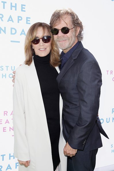 Felicity Huffman and William H. Macy attend The Rape Foundation's Annual Brunch on October 7, 2018 in Beverly Hills | Photo: Getty Images