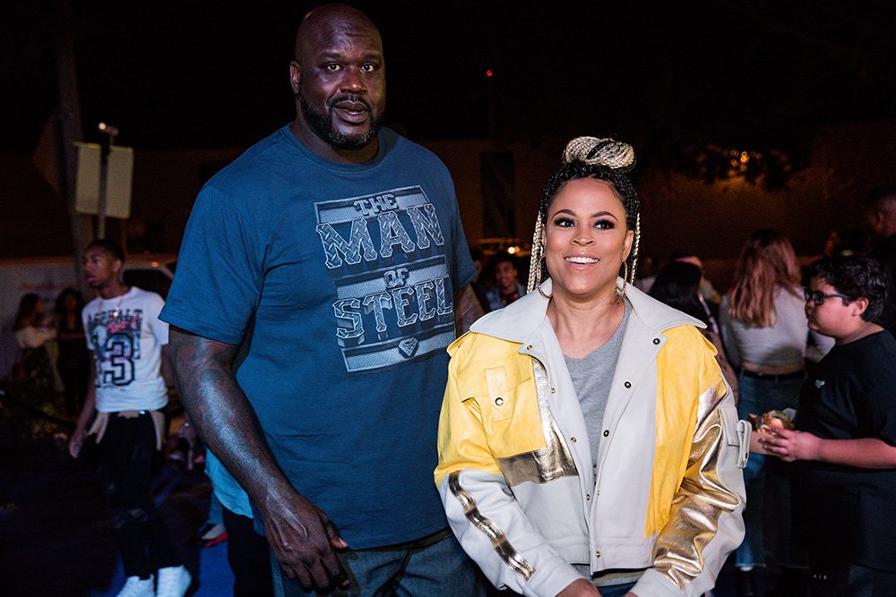 Shaunie O'Neal and Shaquille O'Neal celebrate Shareef O'Neal's 18th birthday party at West Coast Customs on January 13, 2018 in Burbank, California. I Image: Getty Images.