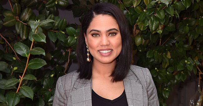 Ayesha Curry Poses Makeup-Free with Her Adorable Son Canon Looking like a Gentleman in a Shirt