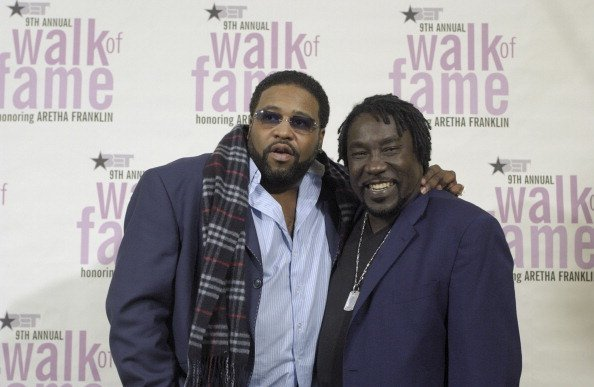 Gerald Levert and Eddie Levert during 9th Annual BET Walk of Fame | Photo: Getty Images