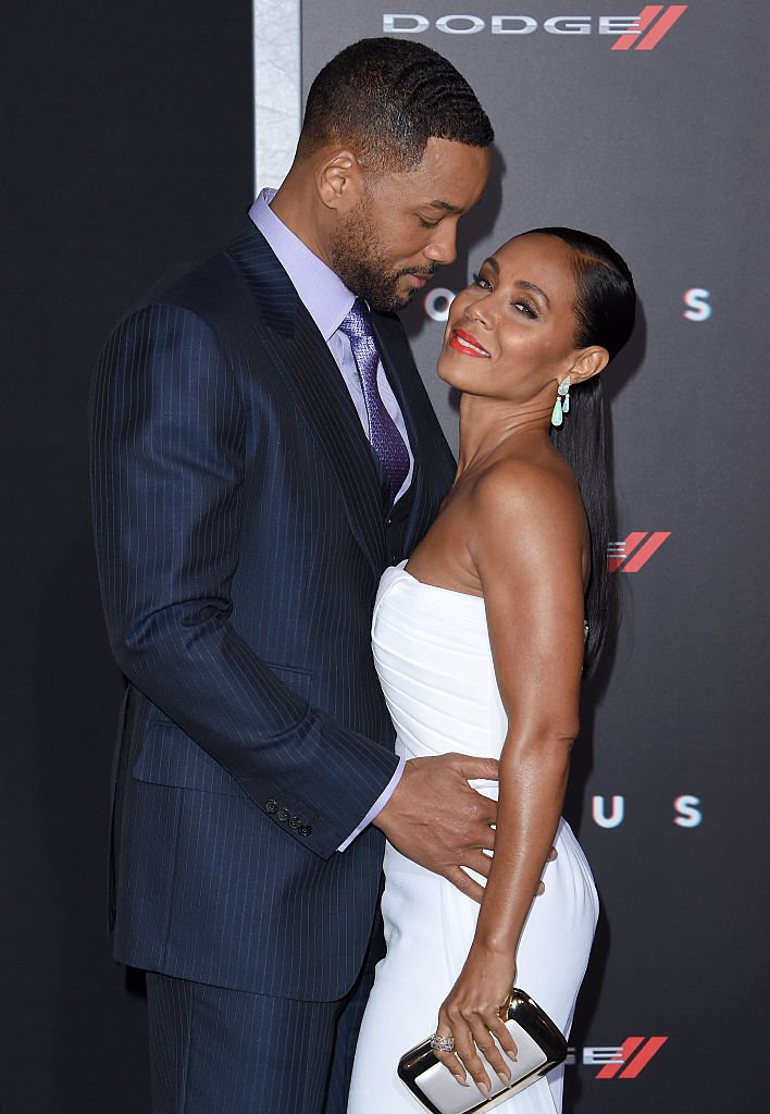 """Will Smith and Jada Pinkett Smith arrive at the Los Angeles World Premiere of Warner Bros. Pictures """"Focus"""", 2015. 