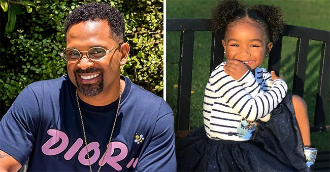 Mike Epps' Daughter Bria Shares Easter Photos of His Granddaughter Skylar Who's Growing up Fast