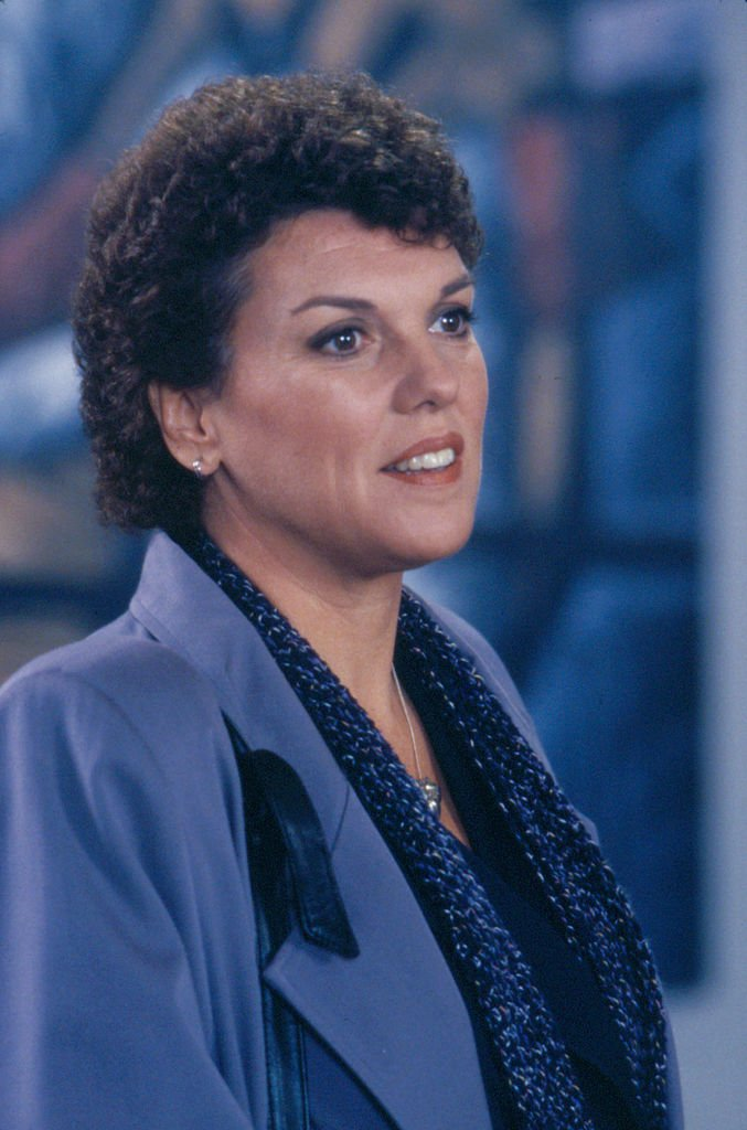 """Tyne Daly as as Detective Mary Beth Lacey in """"Cagney & Lacey"""" in 1988 