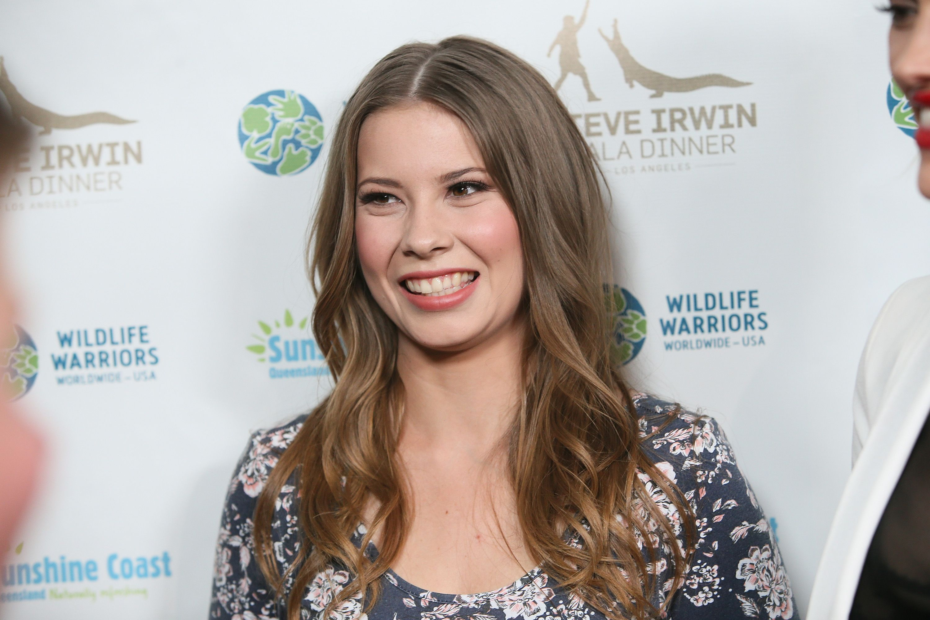 Actress Bindi Irwin at the Steve Irwin Gala Dinner at the SLS Hotel at Beverly Hills on May 13, 2017   Photo: Getty Images