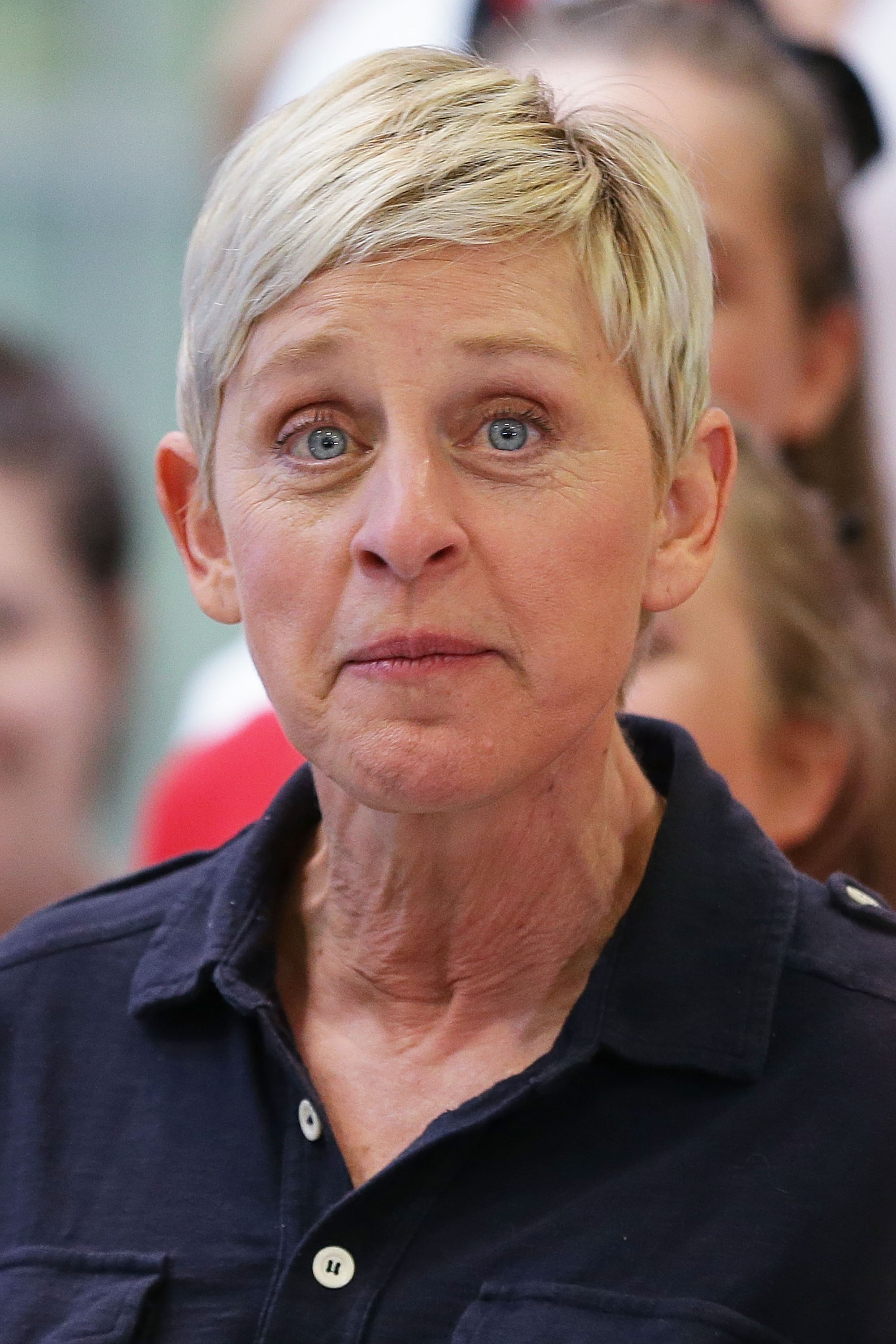 Ellen DeGeneres at the Sydney Airport in Sydney, Australia on March 22, 2013 | Photo: Getty Images