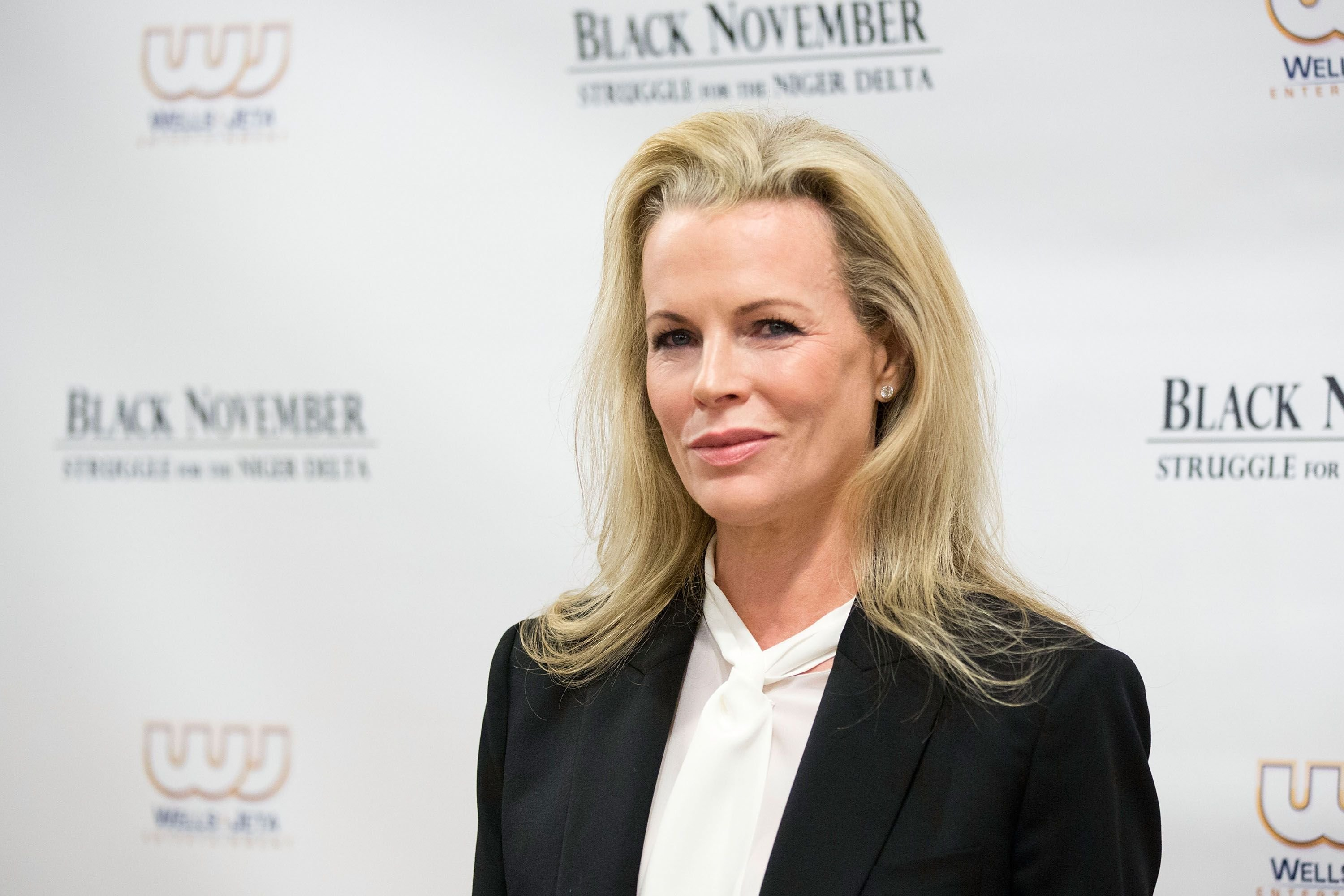 "Kim Basinger attends the ""Black November"" New York City Premiere. 