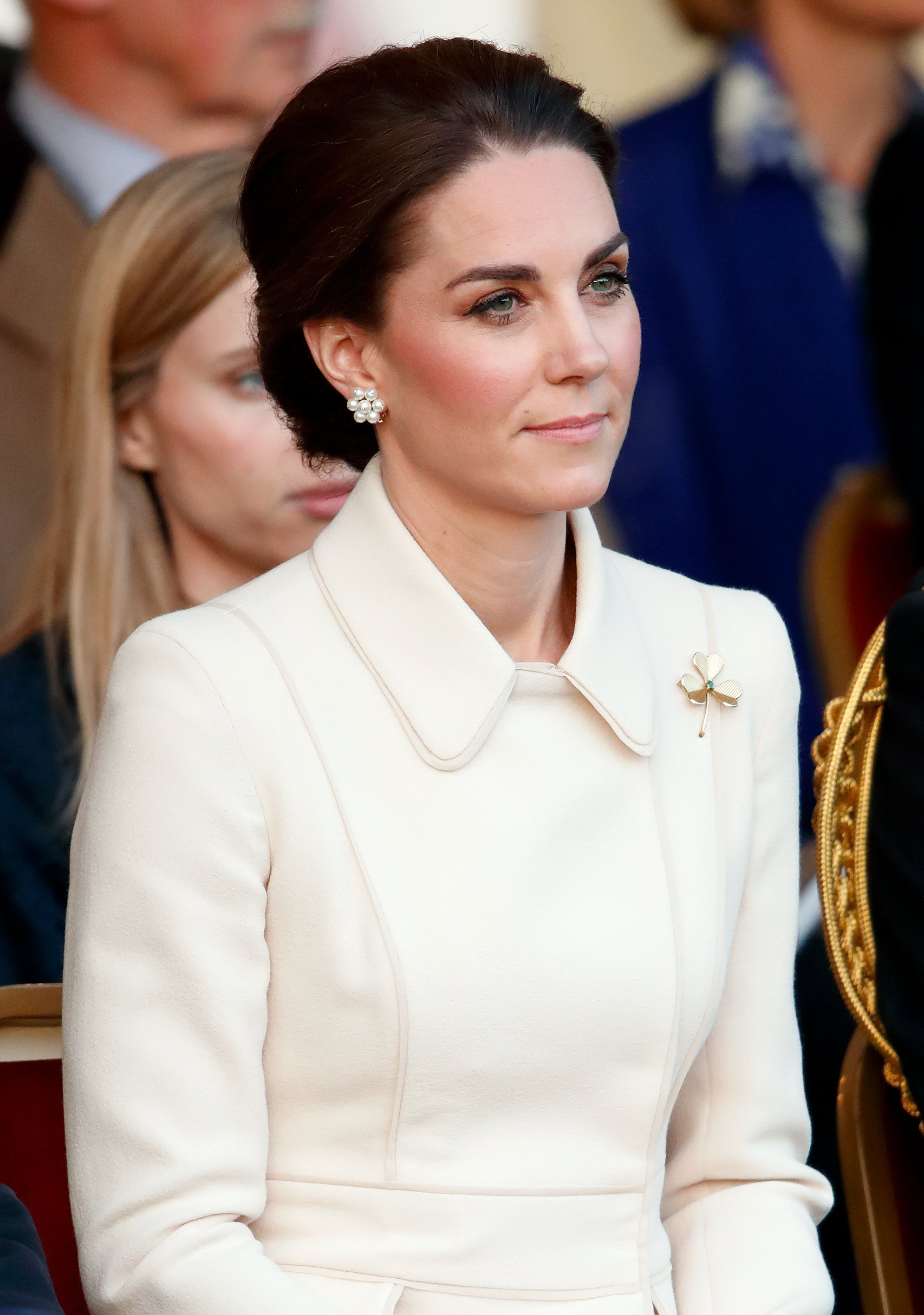 Catherine, Duchess of Cambridge attends the Household Division's 'Beating Retreat' at Horse Guards Parade on June 6, 2019 in London, England. | Photo: GettyImages