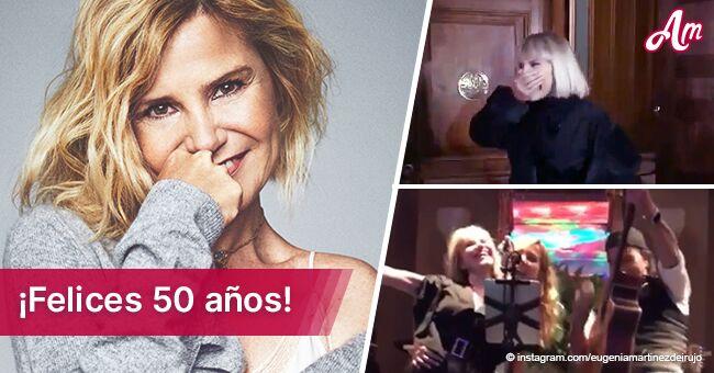 Eugenia Martínez de Irujo comparte video íntimo de su fiesta sorpresa de cumpleaños