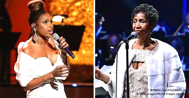 Jennifer Hudson Gets Standing Ovation after Powerhouse Performance at Aretha Franklin Tribute Event