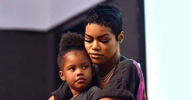 Teyana Taylor's Daughter Iman Tayla Shumpert Jr Models Clothes from Her Own Clothing Line