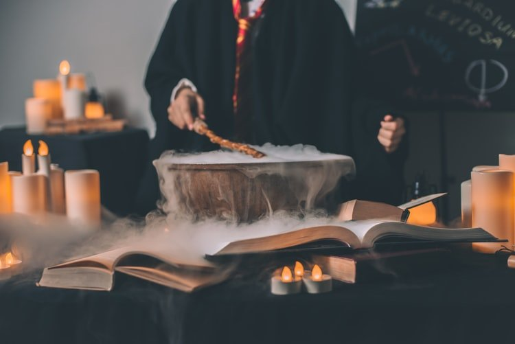 A photo of someone casting a spell. | Photo: Unsplash
