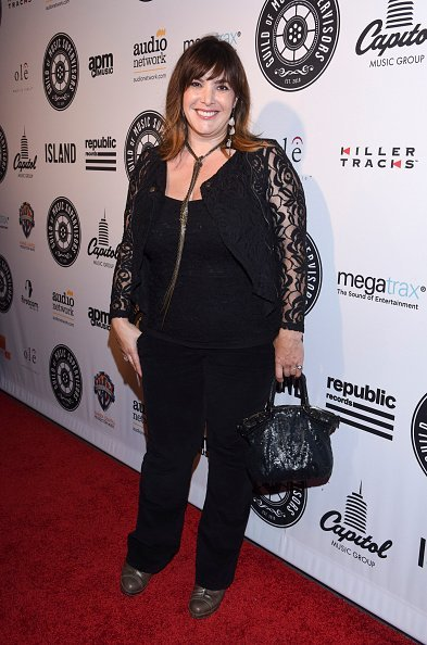 Danielle Brisebois arrives at the Fifth Annual Guild Of Music Supervisors Awards at Mack Sennett Studios on January 21, 2015, in Los Angeles, California. | Source: Getty Images.